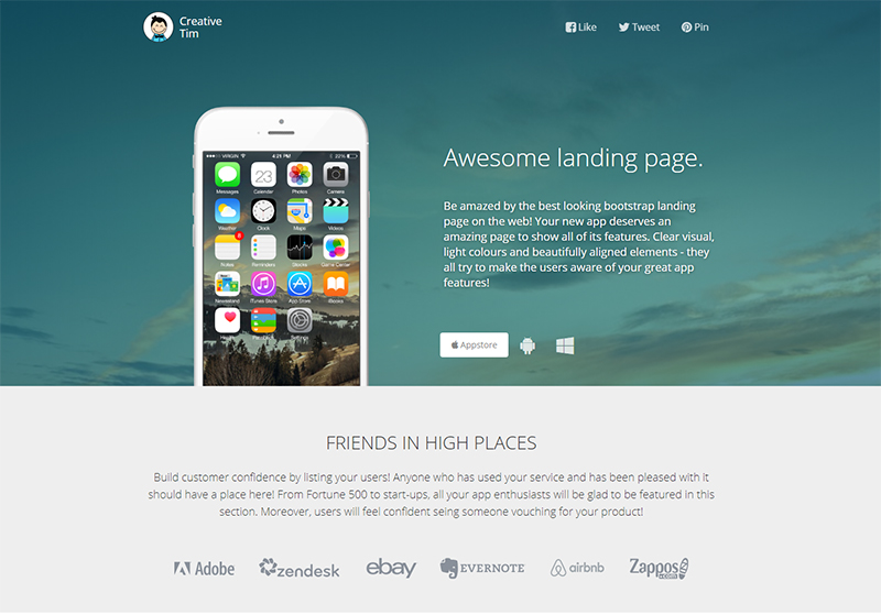 /is-it-reasonable-to-use-a-bootstrap-landing-page-template-for-your-website-8y1c930wy feature image