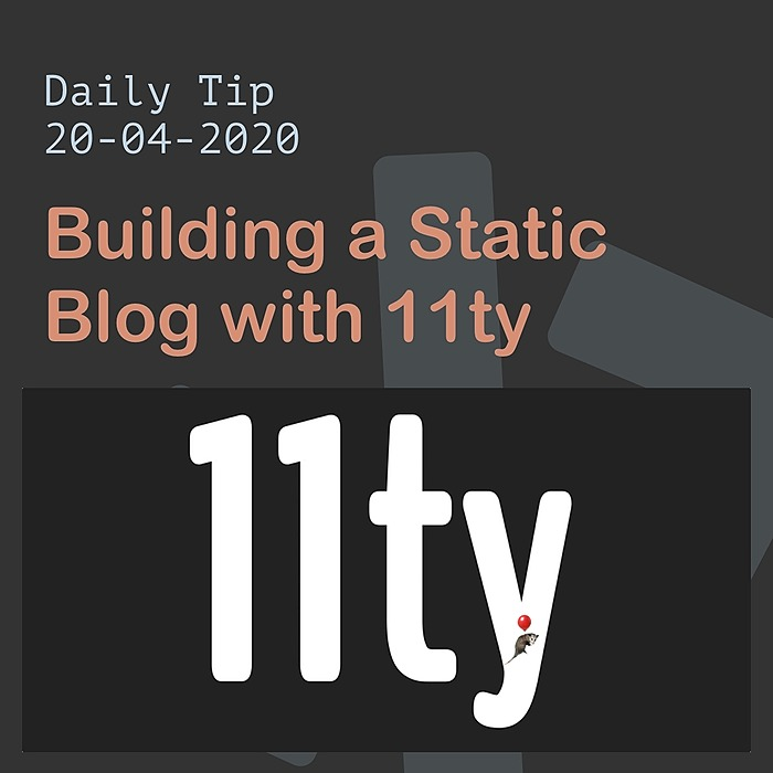 /how-to-build-a-static-blog-with-11ty-i29g3yx5 feature image