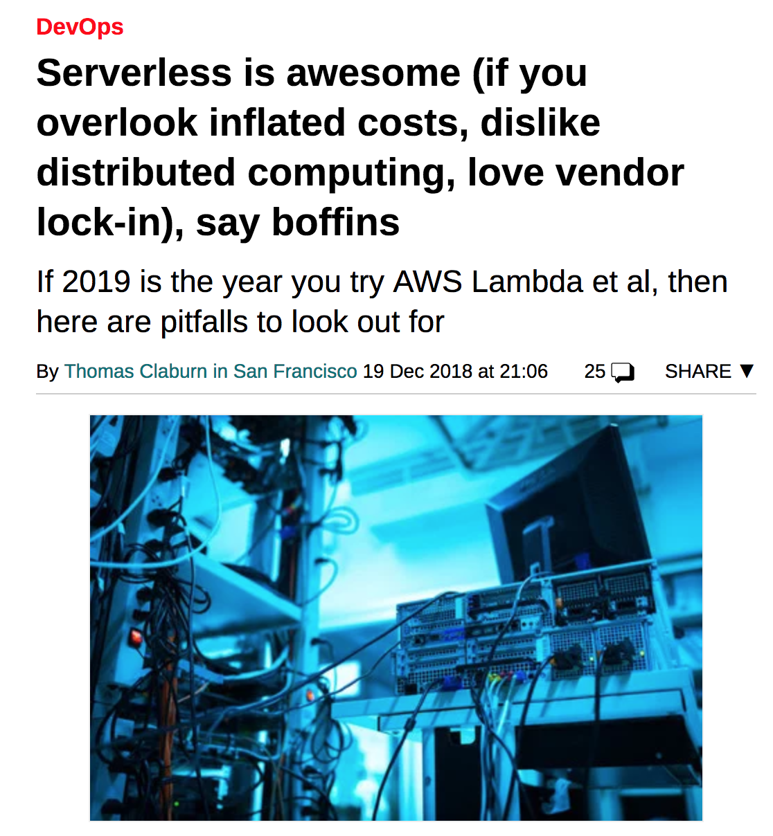 /you-are-thinking-about-serverless-costs-all-wrong-d90d1f06787c feature image
