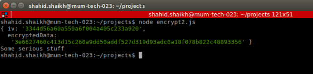 Encrypt and Decrypt Data in Node js - By Shahid Shaikh