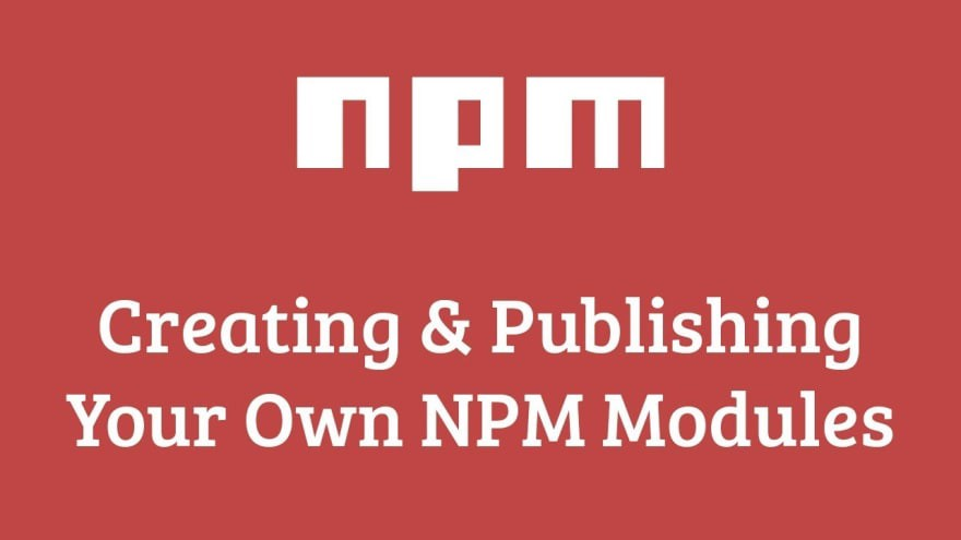 Publish your own NPM package 🎉 - By