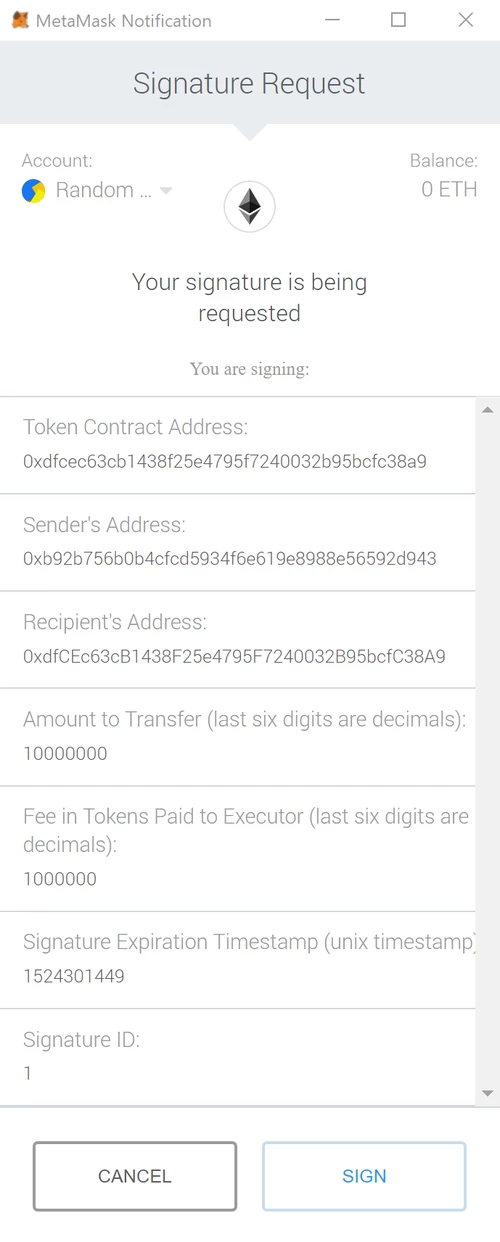 You don't Need Ether to Transfer Tokens - By