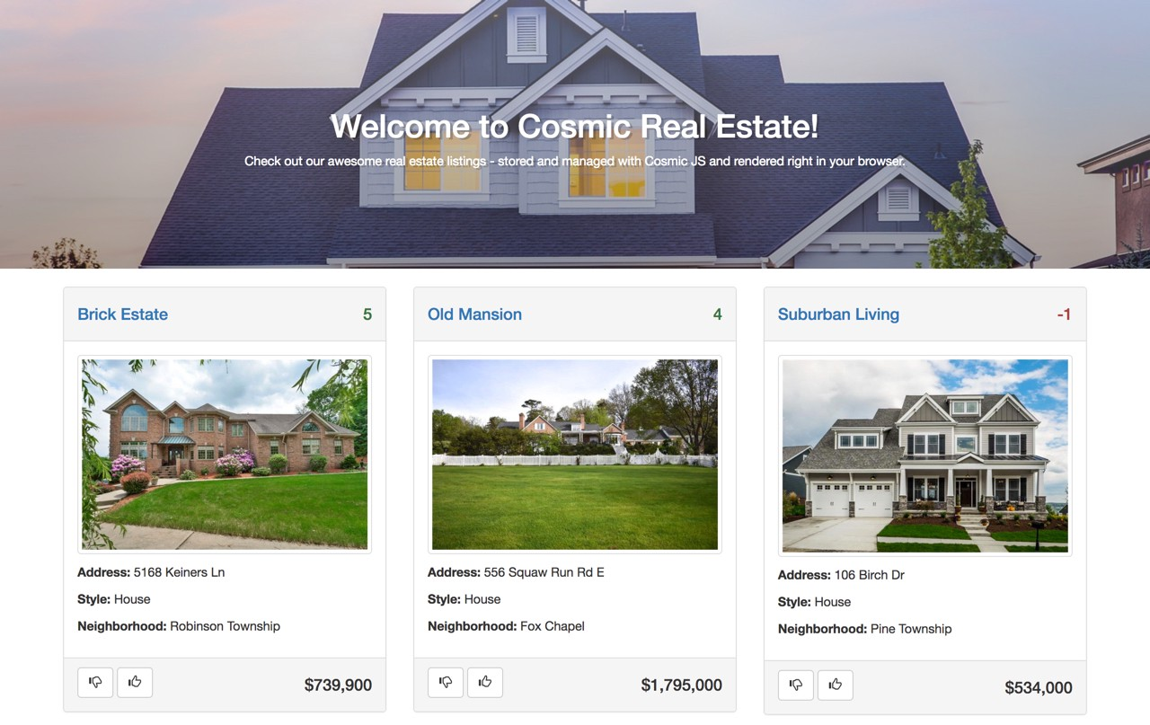 How to Build a Real Estate Website Using Ember js - By