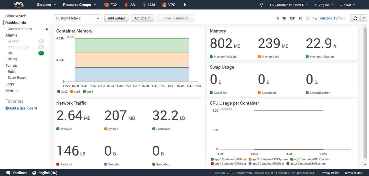 Publish Custom Metrics to AWS CloudWatch - By