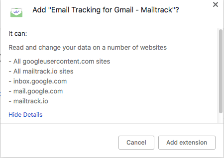 Security Check: Can Chrome Email Tracking Extensions Store