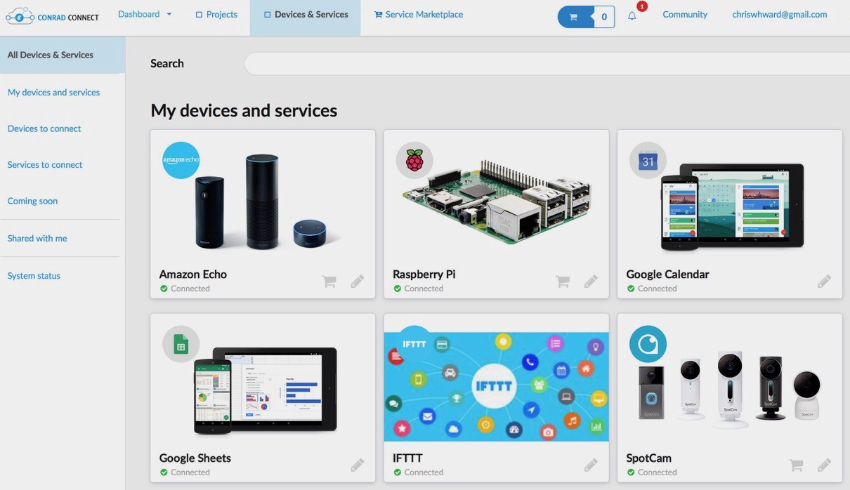 /creating-a-smart-home-with-conrad-connect-a5c4cdd83ee4 feature image
