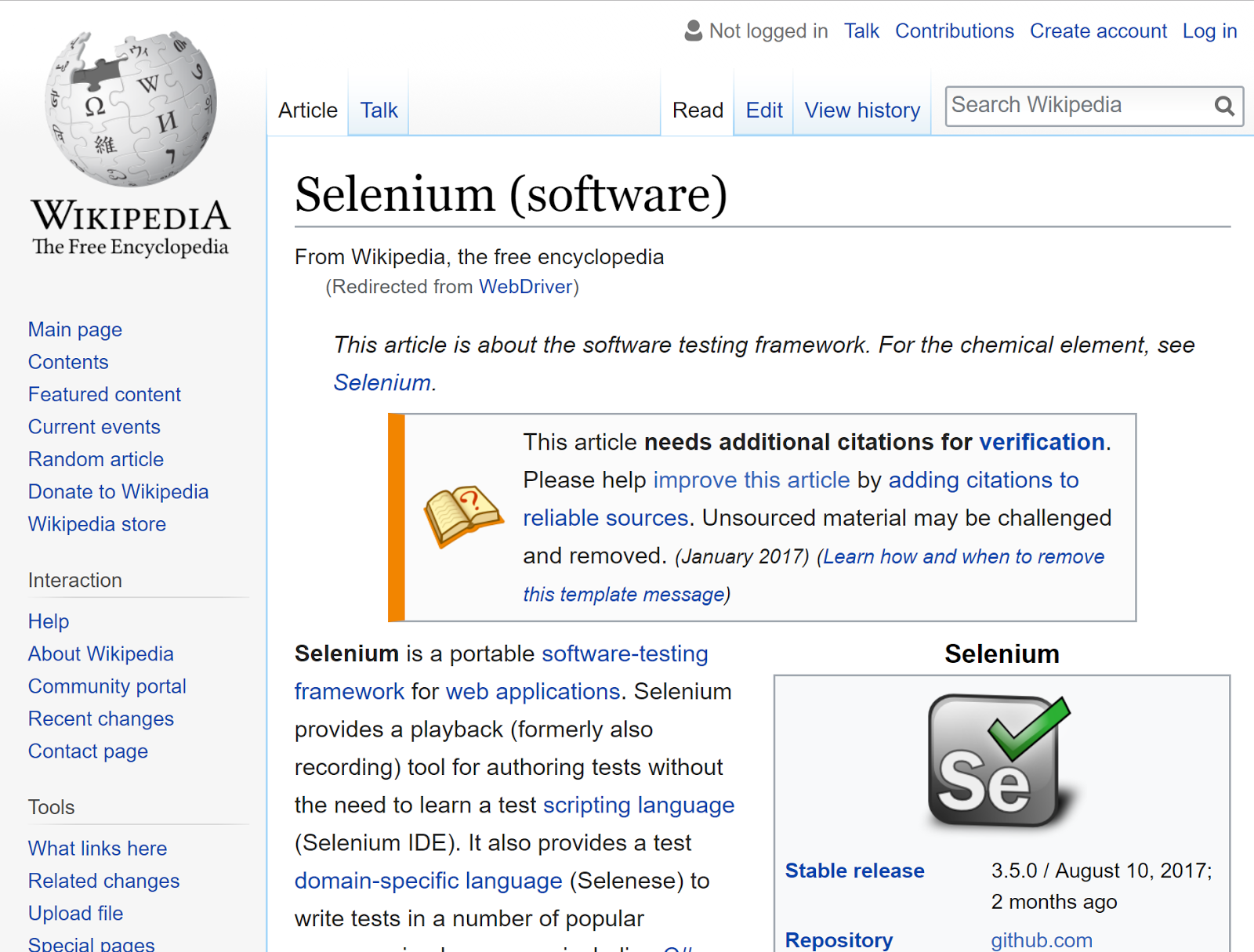 Love Selenium? It may be cheating on you - By