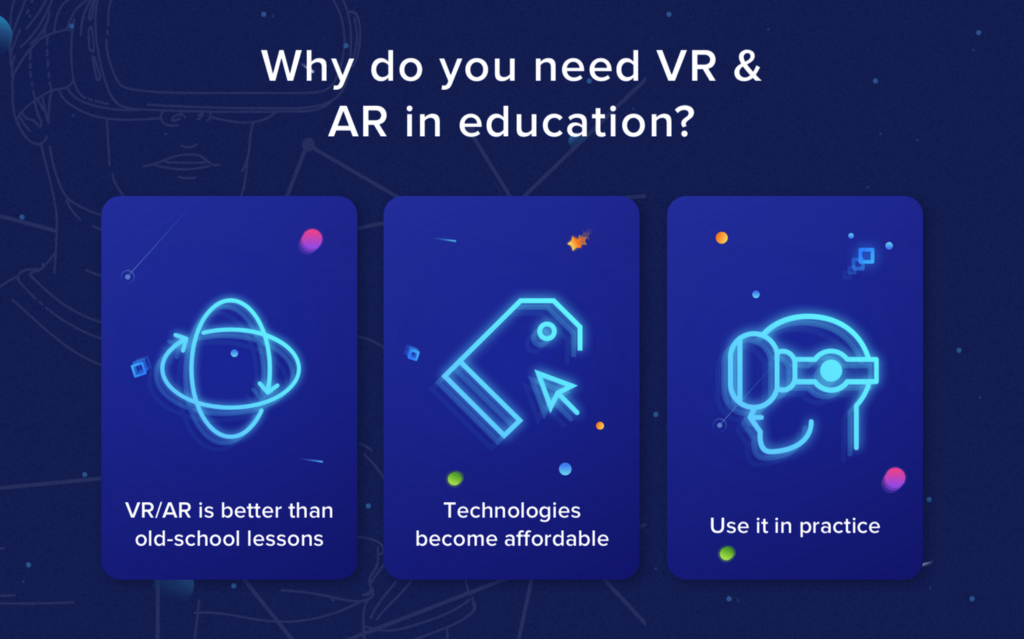 AR and VR Applications in Healthcare, Education, and