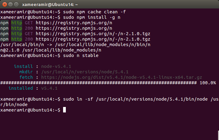 Building ASP NET 5 on Ubuntu linux - By