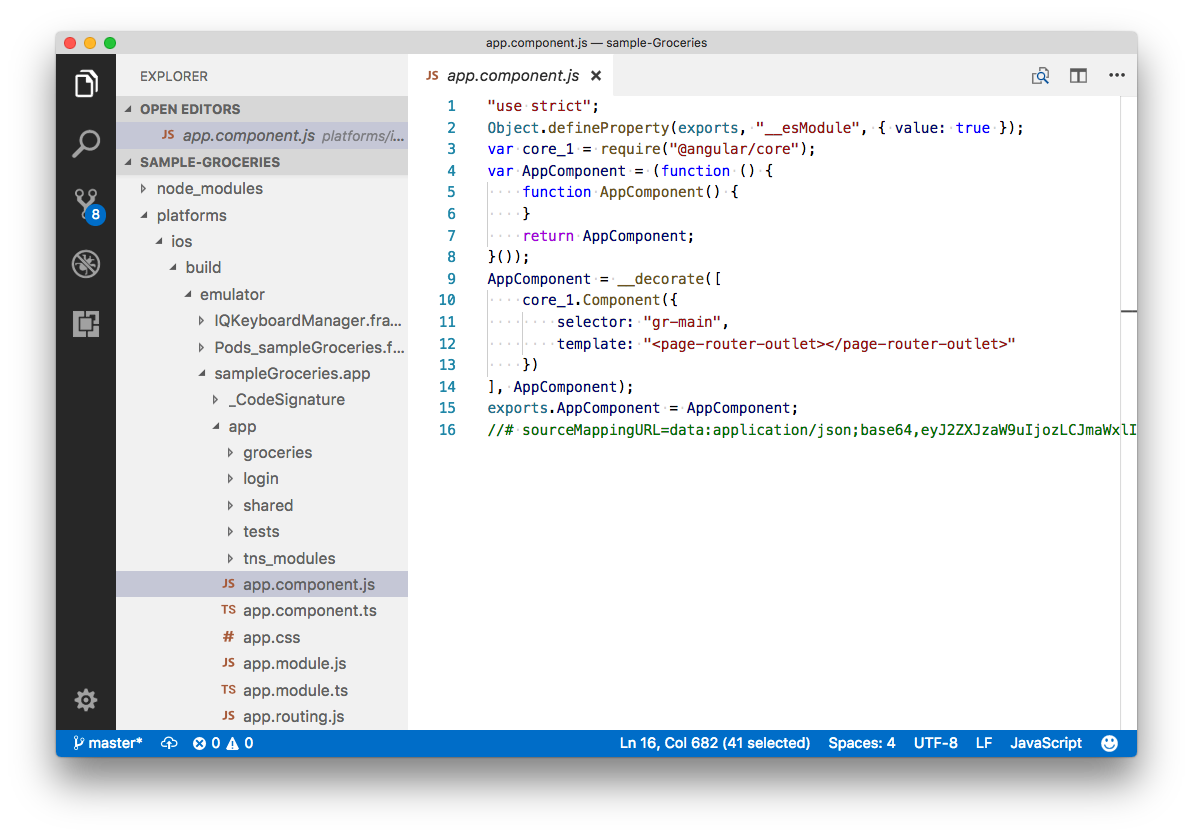 Protecting Your NativeScript Source Code with Jscrambler - By
