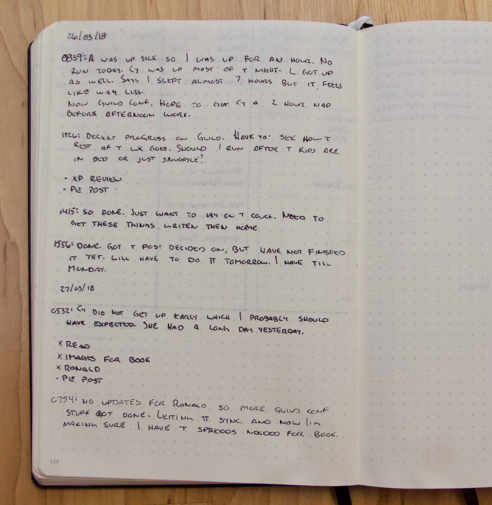 How I Modified The Bullet Journal System to run my Online
