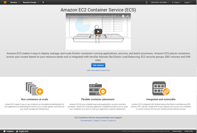 Pushing a Docker Image to the EC2 Container Registry - By