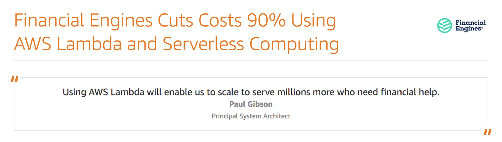 You are thinking about serverless costs all wrong - By Yan Cui