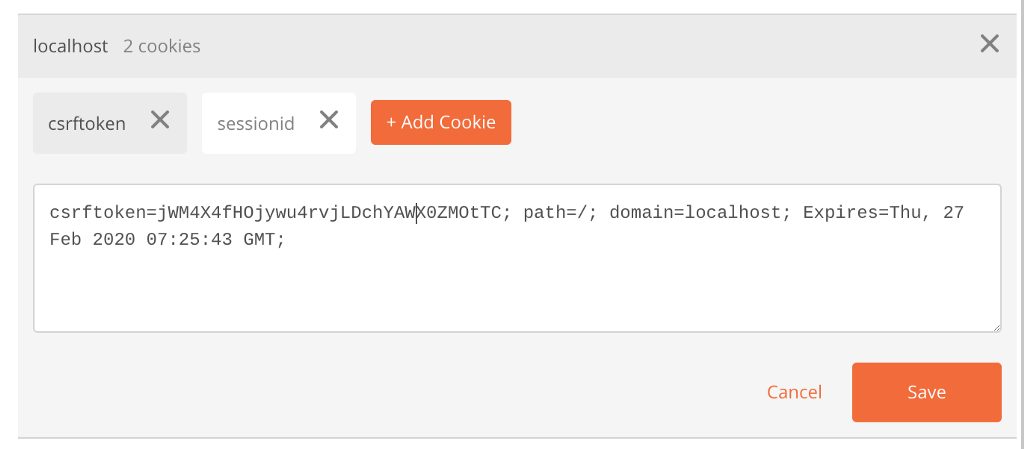 Automatically Set CSRF Token in Postman — Django Tips | Hacker Noon