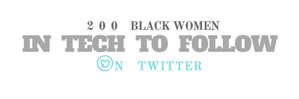 /200-black-women-in-tech-to-follow-on-twitter-e33a27303b4a feature image