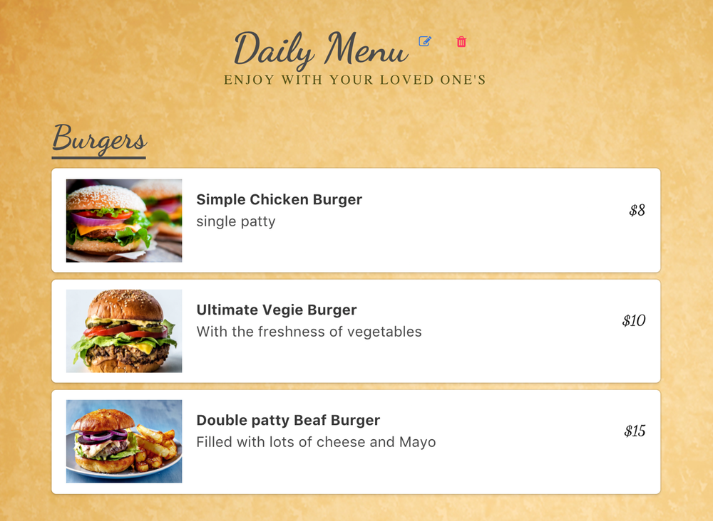 How to Build a Restaurant Menu App in Nuxt & Vuex using