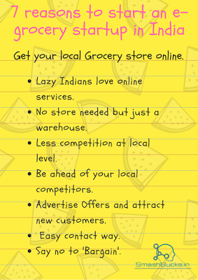 7 Reasons for starting an e-grocery startup in India right