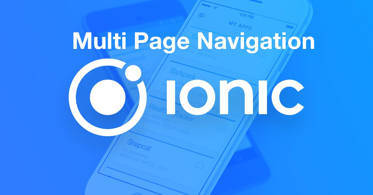 /multi-page-navigation-in-an-ionic-app-8b008f616cdb feature image