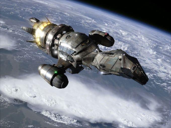 Imagine choosing between two spaceships