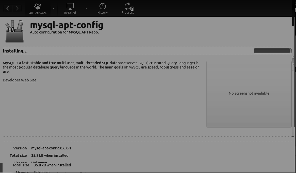 Installing Mysql on Ubuntu linux - By