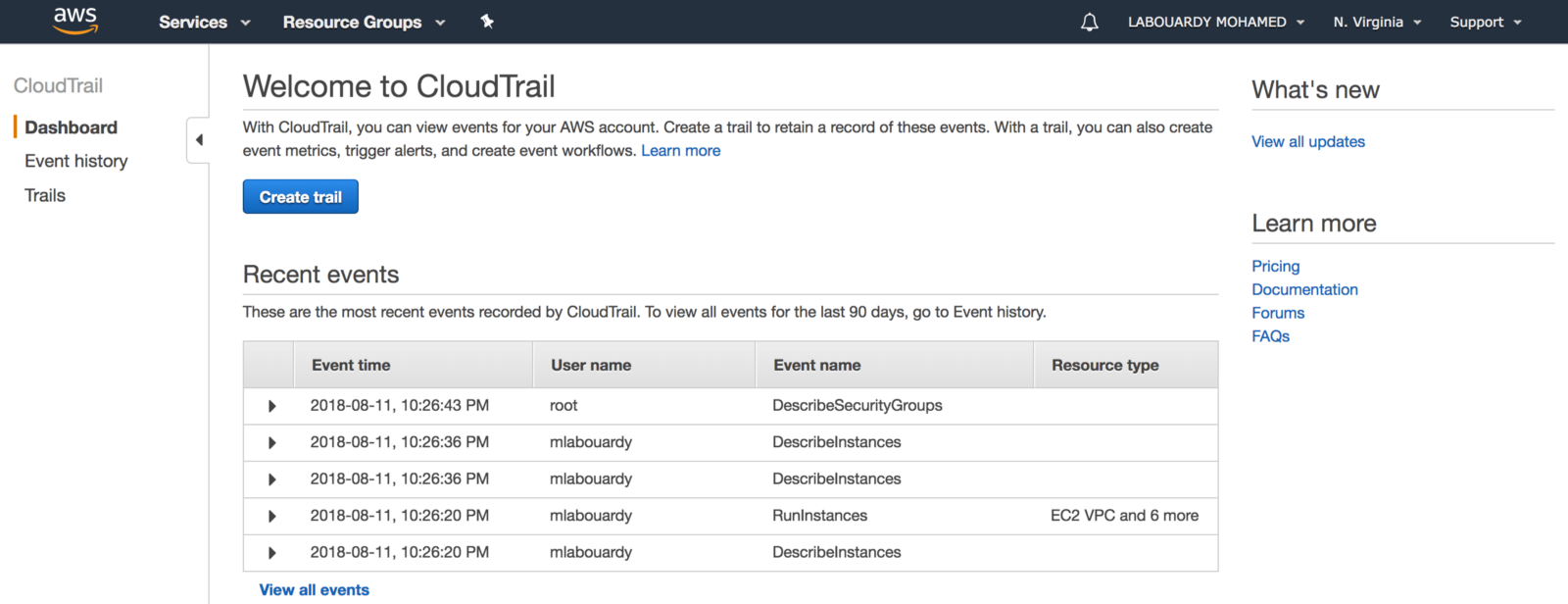 AWS Events Analysis with ELK - By