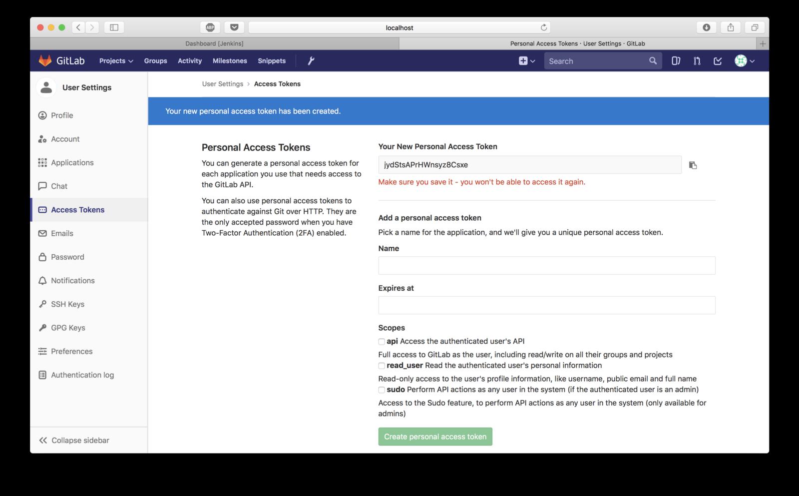 DevOps: Setting up GitLab + Jenkins CI with Docker - By