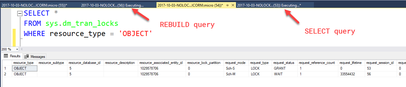 How Using NOLOCK Can Block Your Queries - By