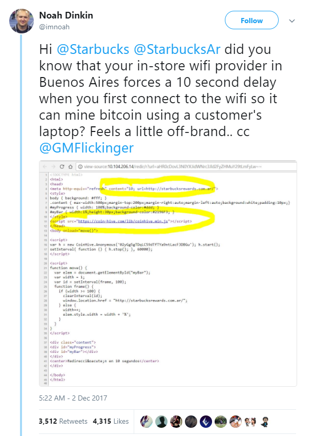 /are-you-mining-for-bitcoins-without-your-consent-dbf0a5c466df feature image