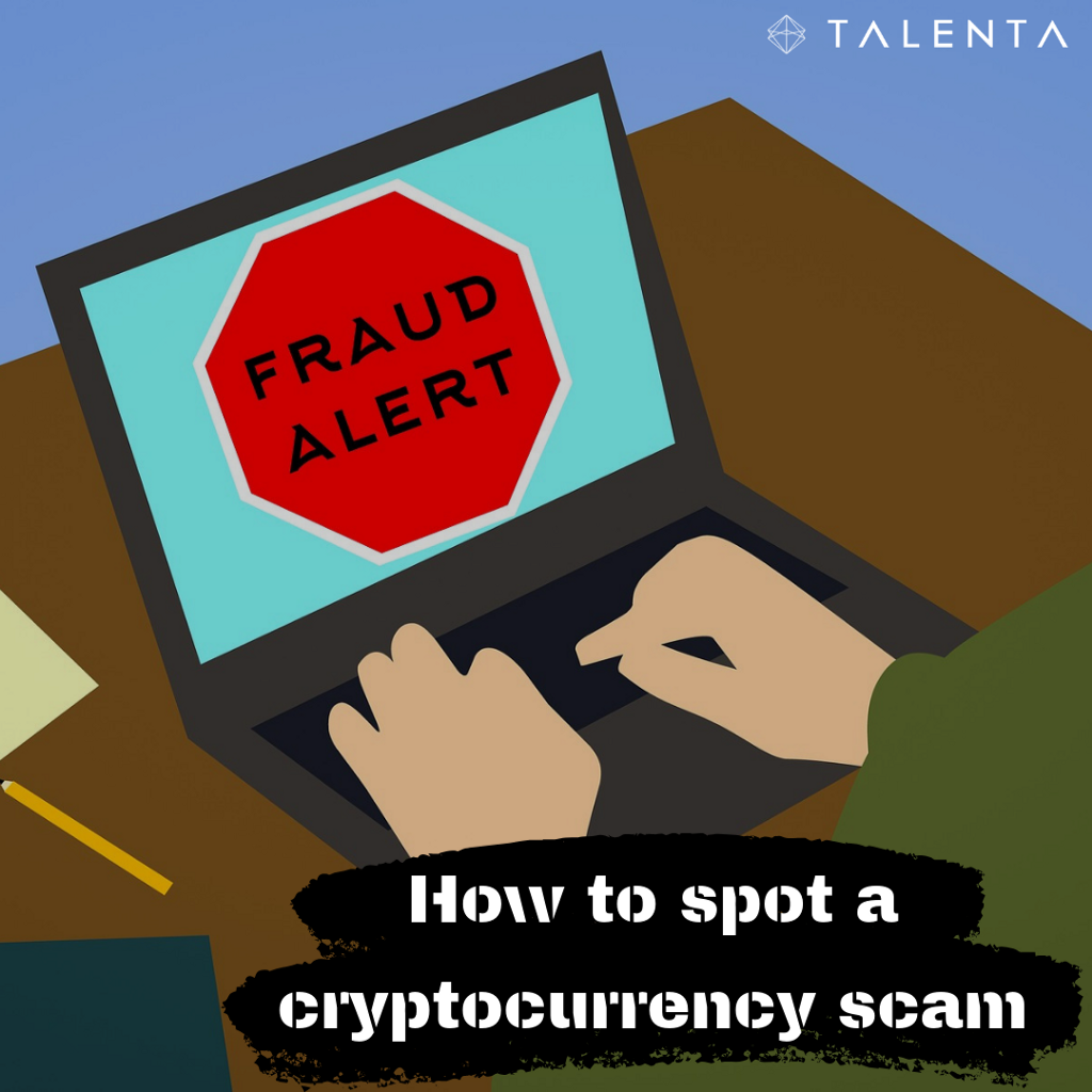/how-to-spot-a-cryptocurrency-scam-33fe96a19460 feature image