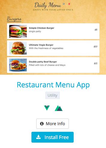 Deploy a Restaurant Menu App in 3 Steps - By Carson
