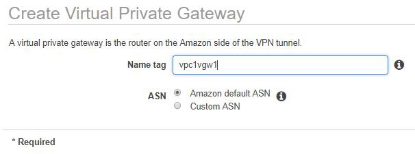 How to VPN connect between Azure and AWS with Managed