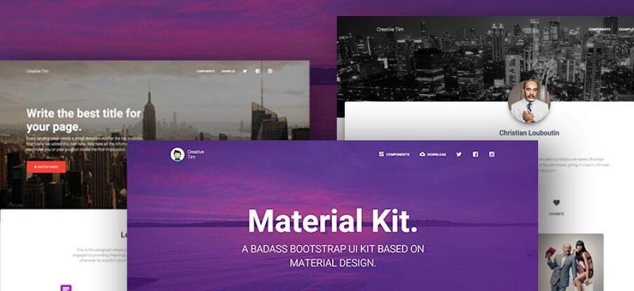 12 Best Free Material Design UI Kits for Sketch & PSD in