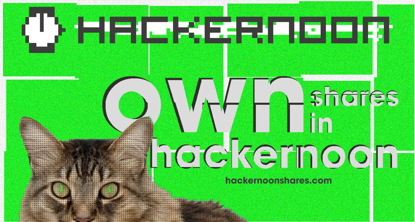 /own-shares-in-hacker-noon-1a77d5f7bfe8 feature image
