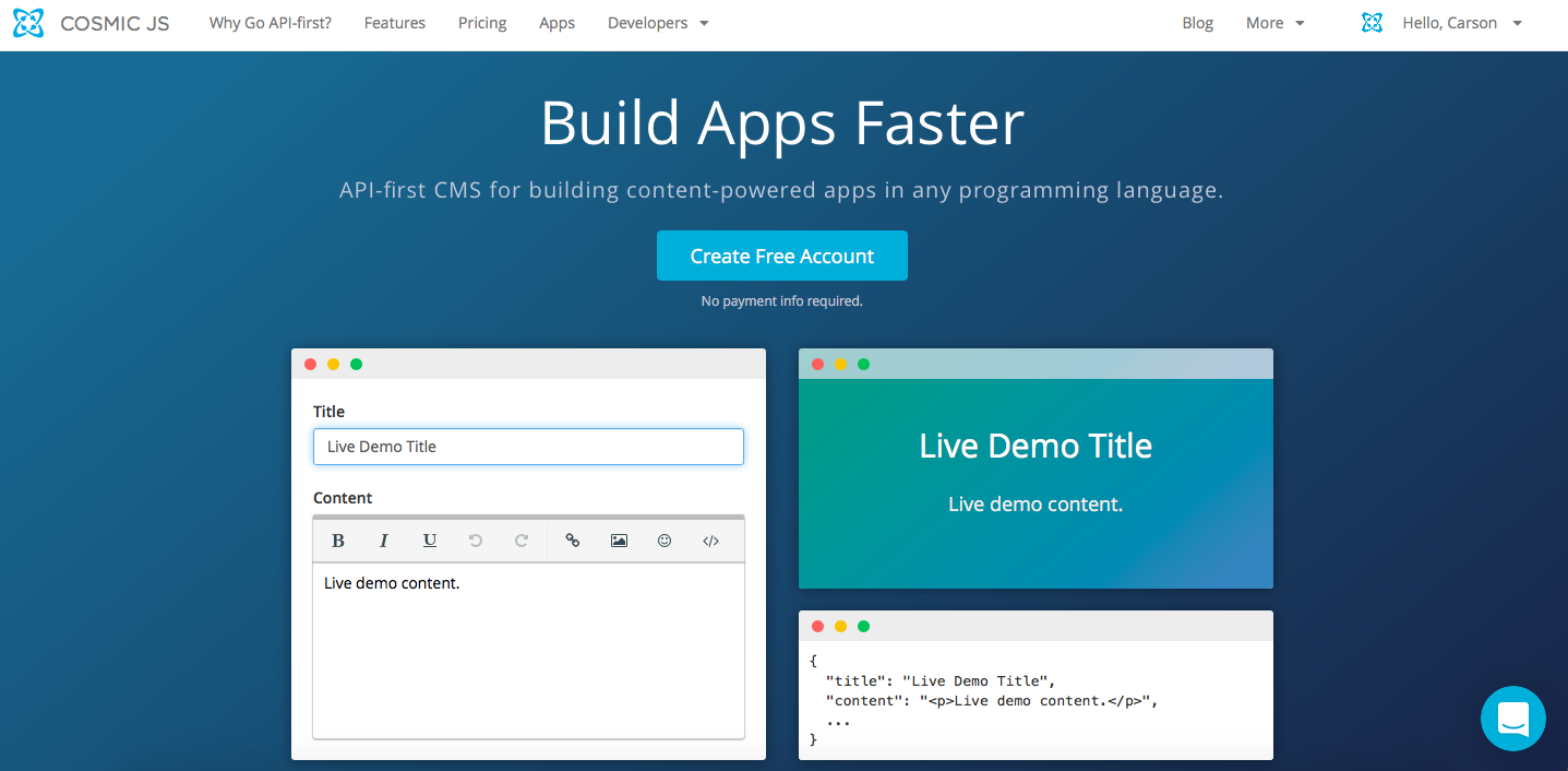 Build a Simple Node js Blog in 4 Steps - By Carson Gibbons