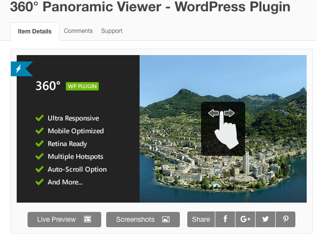 5 Top 360-Degree Plugins for WordPress - By