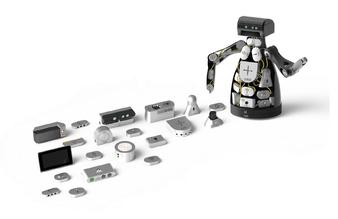 Announcing H-ROS: the Hardware Robot Operating System - By