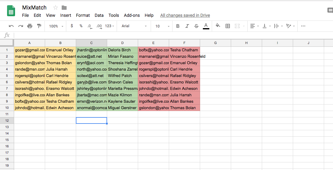 Solve the Secret Santa Mix-Match with Google Sheets and Apps