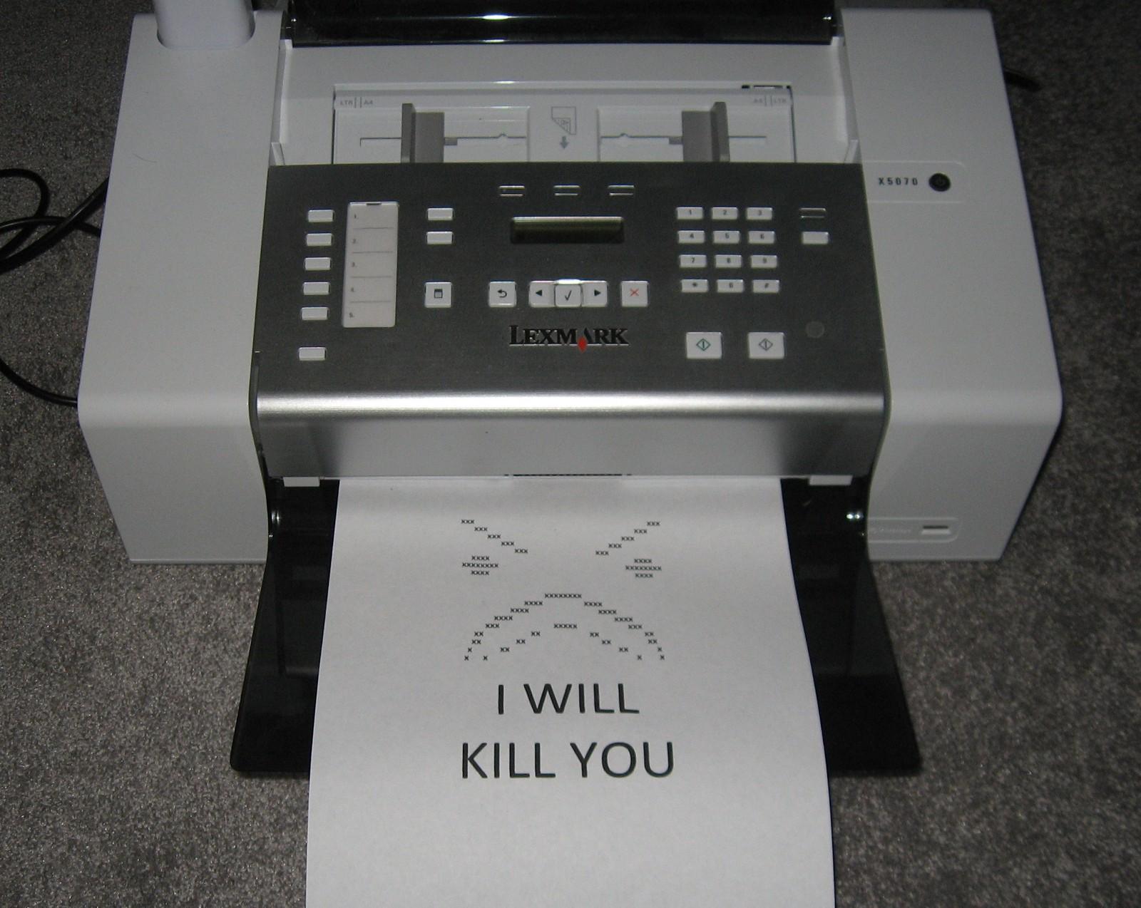 Riding the Printer Pwnie - By