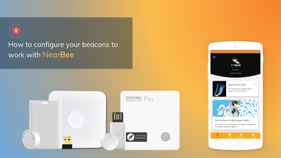 How to configure your beacons to work with NearBee - By
