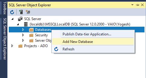ASP NET CORE — Learn CRUD Operations in ADO NET from Zero to