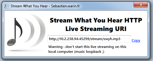 Creating a music streaming server and live music playing