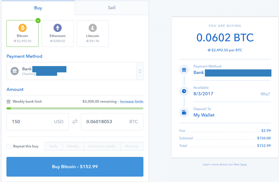 How to use Coinbase - By