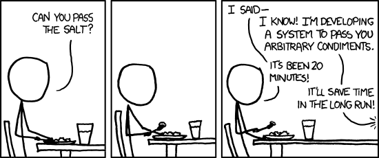 over-engineering