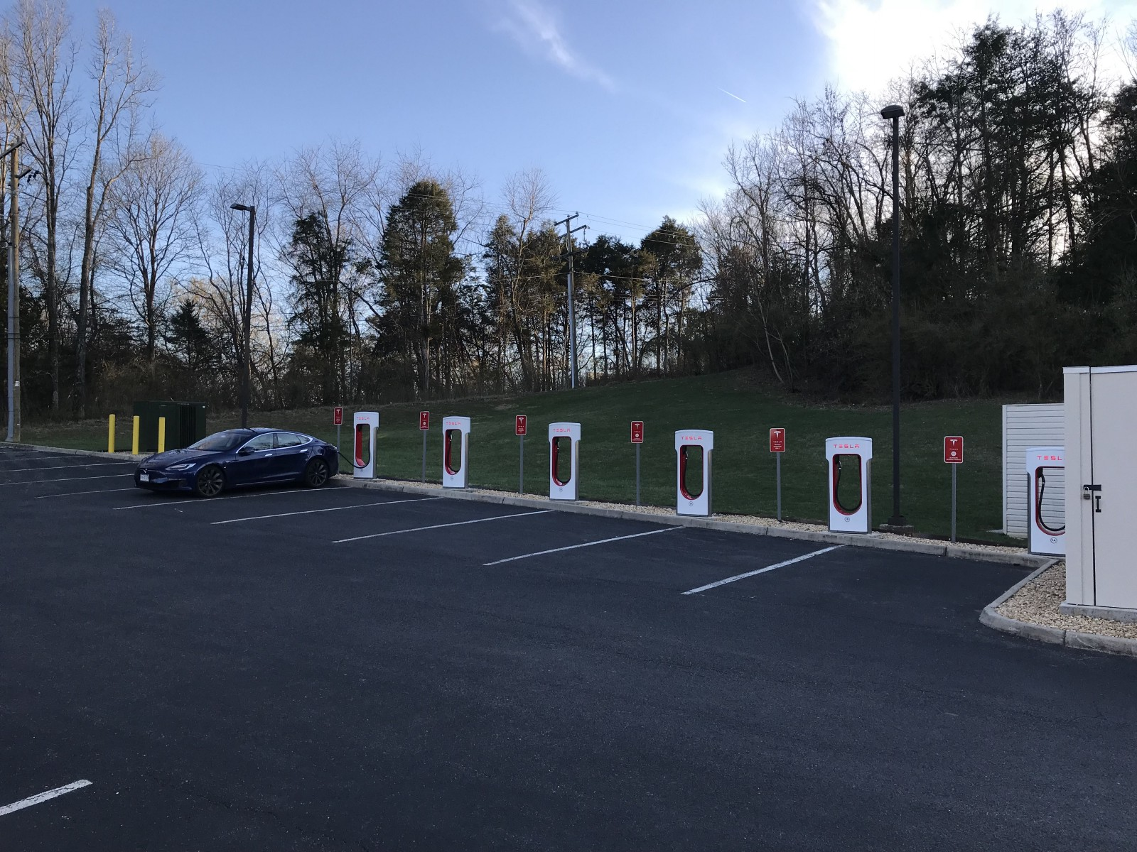 Supercharger Station Hopping Across Virginia in My Tesla - By