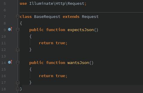 Always return JSON with Laravel API - By