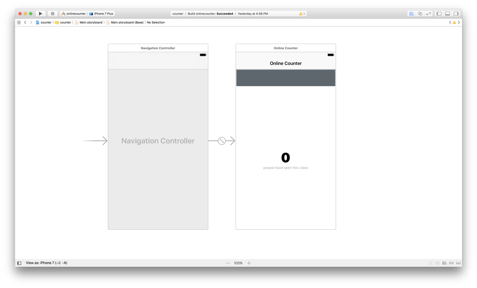 Build a realtime counter using Swift - By neo