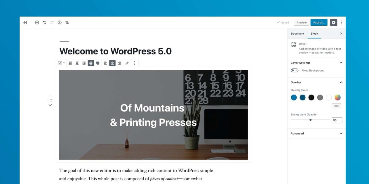 /initial-impression-of-wordpress-5-from-a-former-wordpress-startup-ceo-a11ab62a0c3 feature image