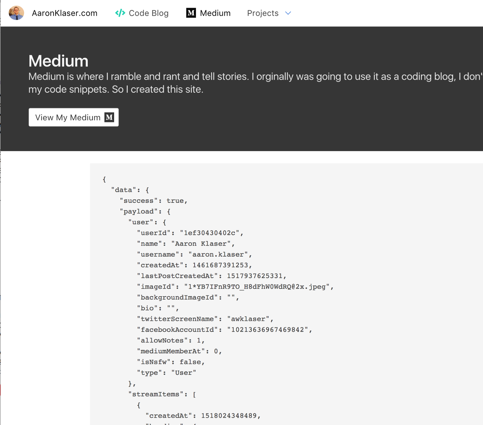 Import your Medium Feed into React - By
