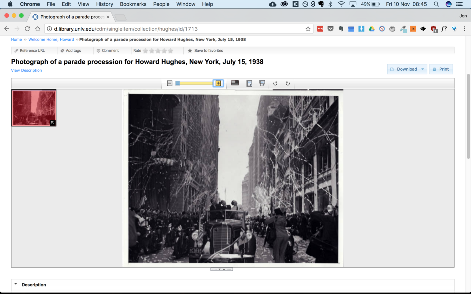 How to save hi-res images from museum websites - By