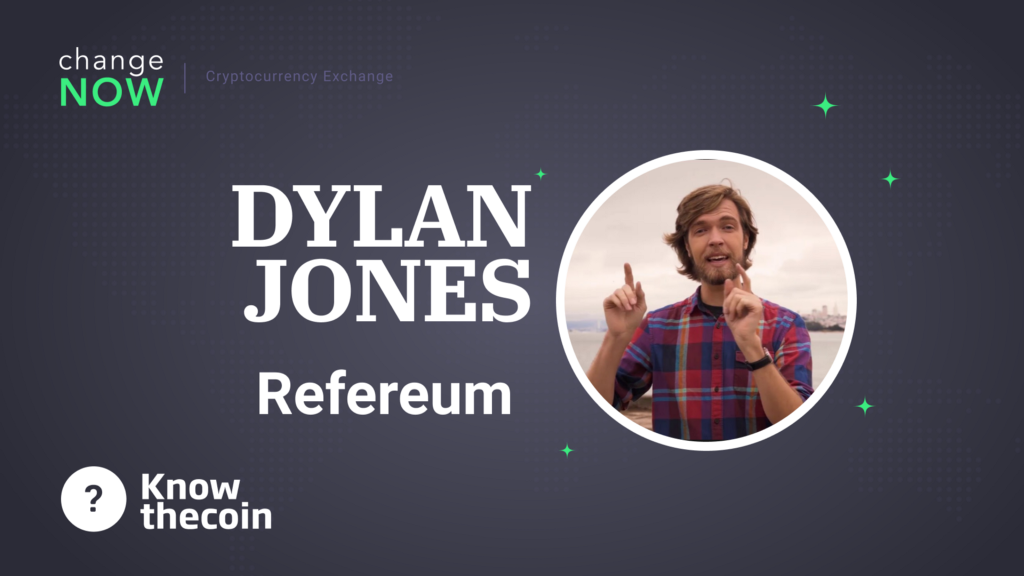/know-the-coin-interview-with-refereum-founder-dylan-jones-1f2a65965077 feature image
